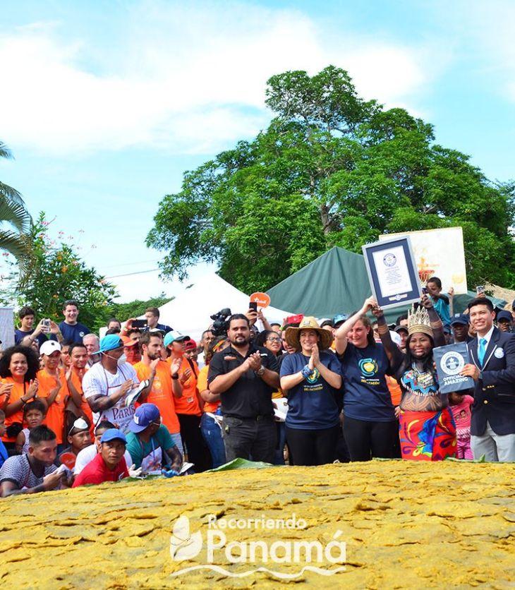 Guinness world record El patacón más grande