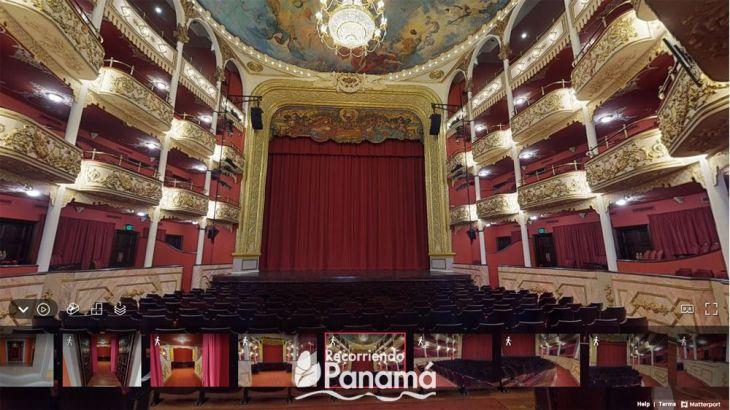 Teatro Nacional, Tours virtuales de Panamá