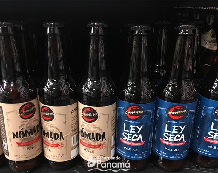 Clandestina Beer. craft beers