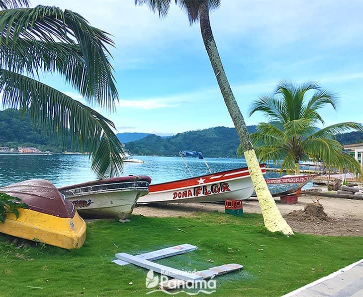 Vistas pintorescas de Isla Grande