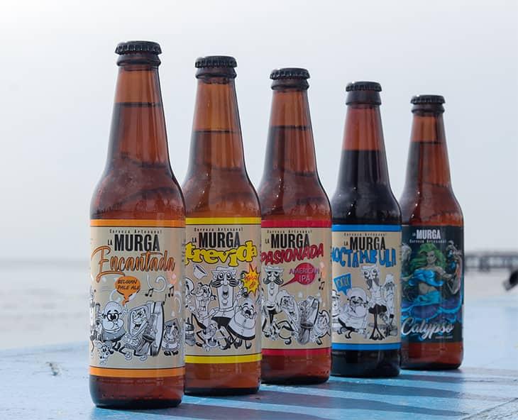 Cerveza La Murga. Cervezas artesanales.