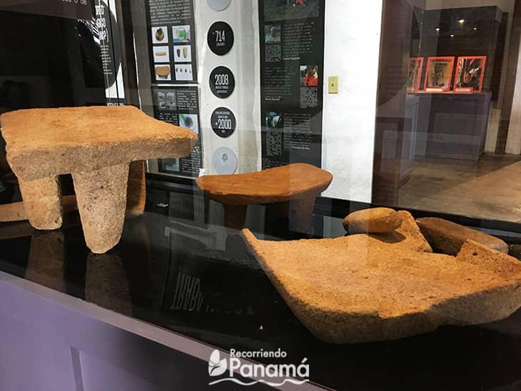 Metates. Museo de Penonomé