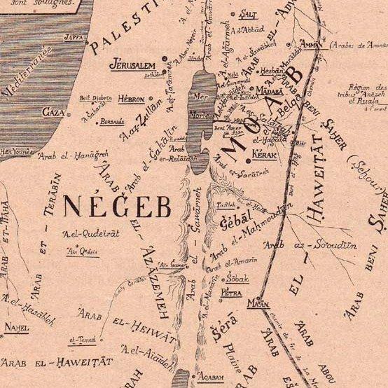 Jordania, 1900