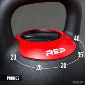 rep fitness adjustable kettlebell