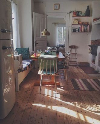 Dreamy Dining room via Kullanimajorna on Instagram