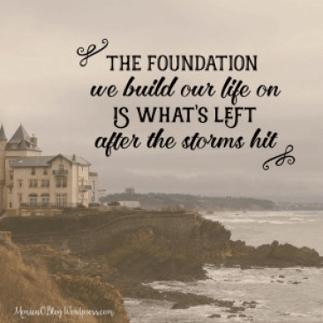 the foundation remains