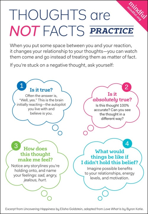 thoughts vs emotions