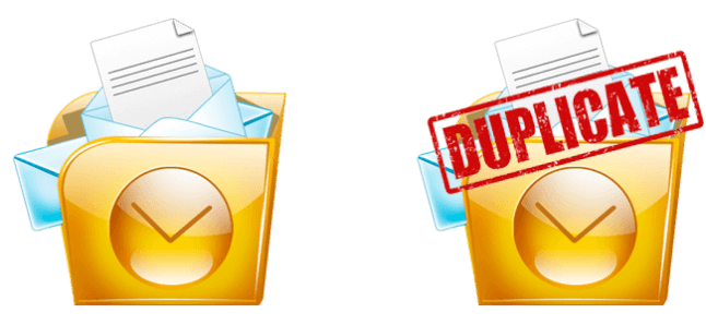 remove duplicates in Outlook