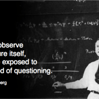 what we observe...