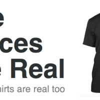 The Voices Are Real - and the shirts are real too