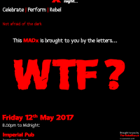MADx - WTF ???  Fri 12th May, 2017