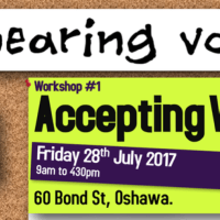 Workshop#1 - Accepting Voices  Fri July 28th