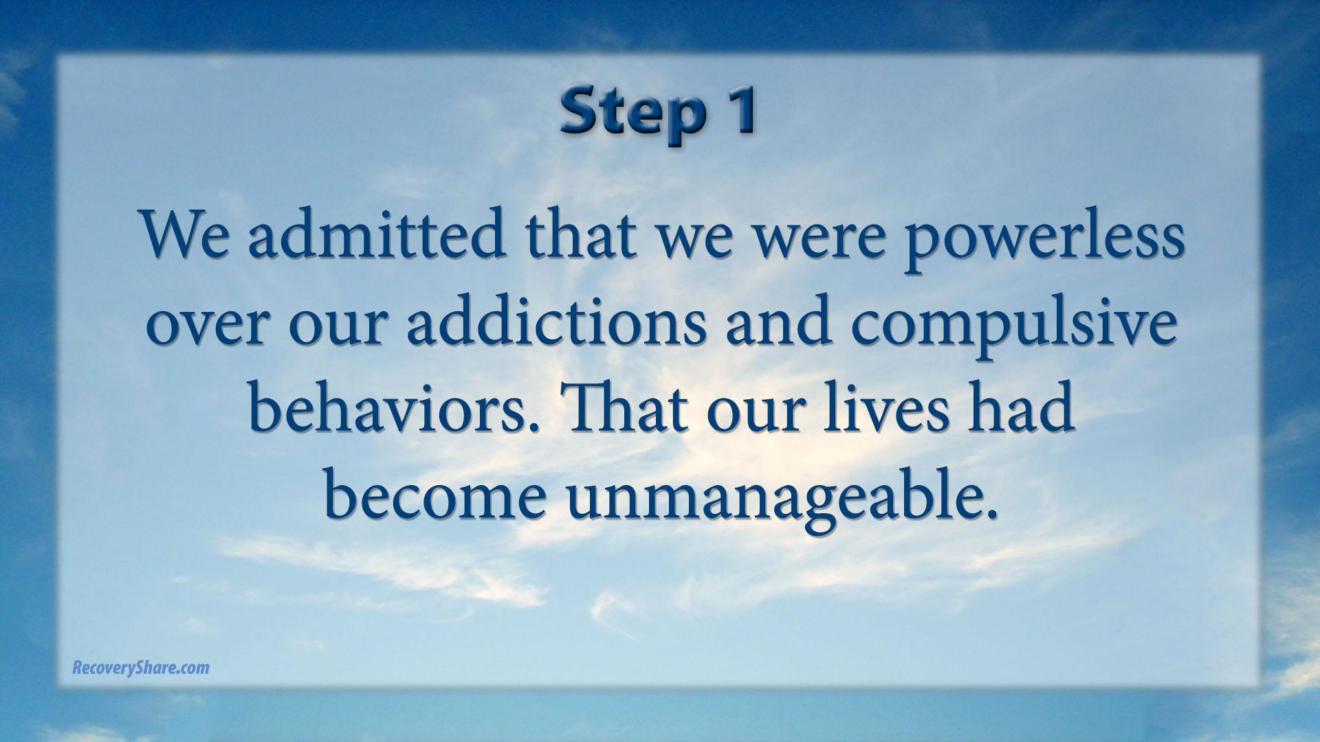 Celebrate Recovery 12 Steps