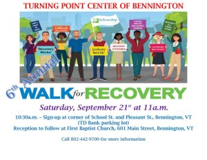 6th Annual Walk for Recovery