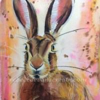 'Fearless watcher'hare for raffle