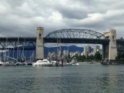 "On the boat ""taxi"" from Granville Island"