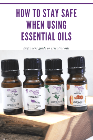 ways to stay safe when using essential oils