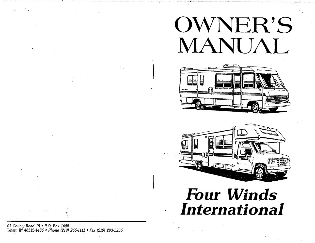 Array - four winds owners manual one word quickstart guide book u2022 rh  panatour ir