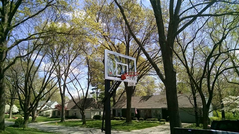 Basketball Goal Assembly Recreation Installations