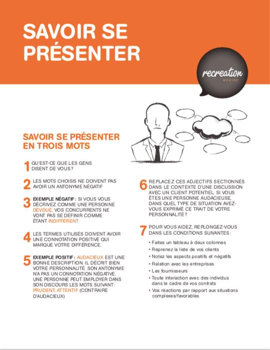 360 degres pitch de presentation