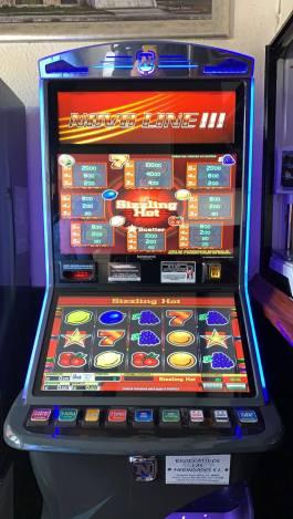Maquina Novoline III en el Bar El Capricho de Diego