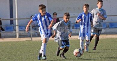 Grata imagen del Alevín A en el Torneo Promesas Andaluzas