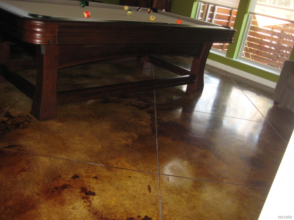 Pictures Stained Concrete Floors