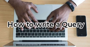 How to reply to a query