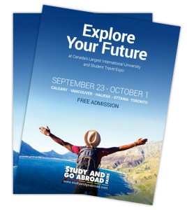 Study and Go Abroad Fall 2017 Posters