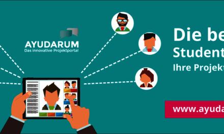Ayudarum: Plattform für Hochschulmarketing im Mittelstand