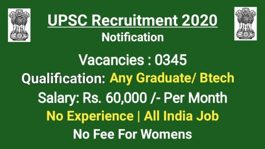 UPSC CDS I 2021 Notification