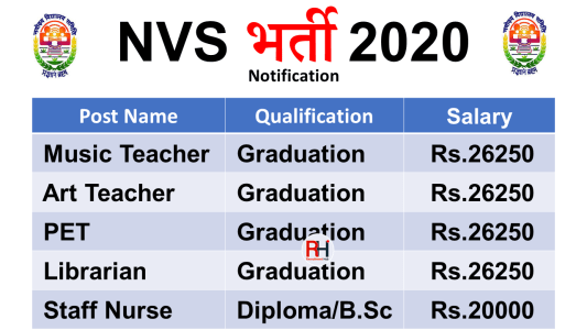 NVS Teacher Jobs 202fd0