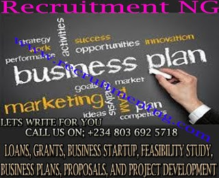 Writing a Business Plan for Investors| Loan | Grant| Feasibility study writer in Nigeria