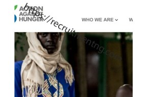 Procurement Assistant at Action Against Hunger International