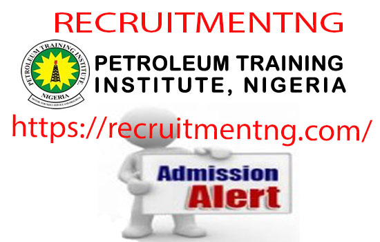 Petroleum Training Institute Admission Courses for OND HND & MSC