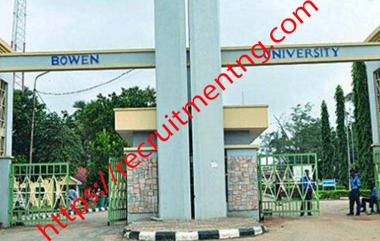 Bowen University Supplementary Admission, 2018/2019 Academic session