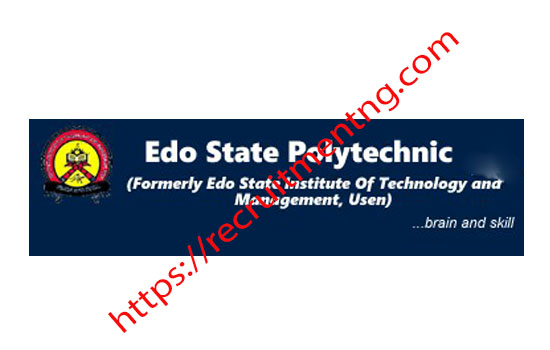 Edo State Poly On HND Full-Time ADMISSION 2018/2019