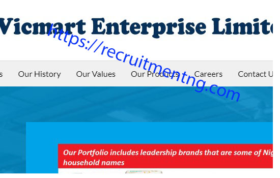 Cashier in Vicmart Enterprises Limited