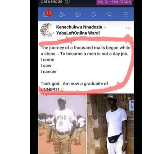 What This Graduate Wrote Will Leave You Wondering