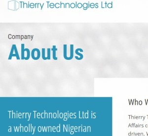 General Manager at Thiery Technologies Nigeria Limited
