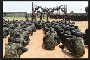 Pharmacists at the Nigerian Army