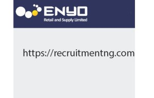 Graduate Cashier at ENYO Retail & Supply Limited