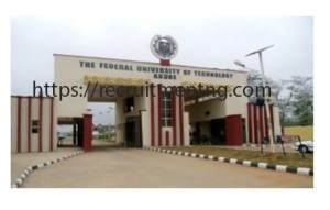 2018/2019 Federal University of Technology, Postgraduate Admission Form