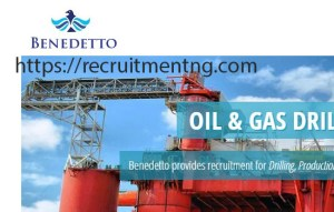 Toolpusher - Jack Up at Benedetto Nigeria
