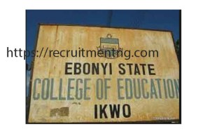 College Librarian at Ebonyi State College of Education