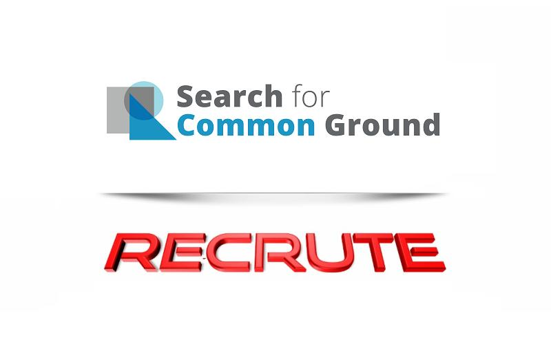 Search for Common Ground  // recrute