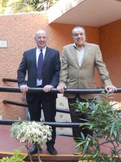 Christian Goethals y Mtro. Francisco Javier Espinosa