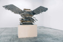 Anselm Kiefer, The Language of the Birds, 2013. Lead, metal, wood and plaster. 325 x 474 x 150 cm. Private Collection. © Anselm Kiefer. Photography: Anselm Kiefer.