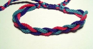 Aprender a hacer brazaletes con hilos