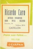 Ricardo Caro 1960